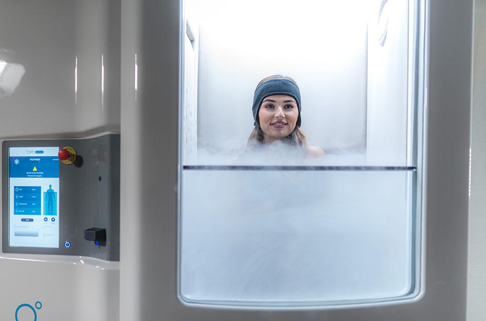 séance cryothérapie